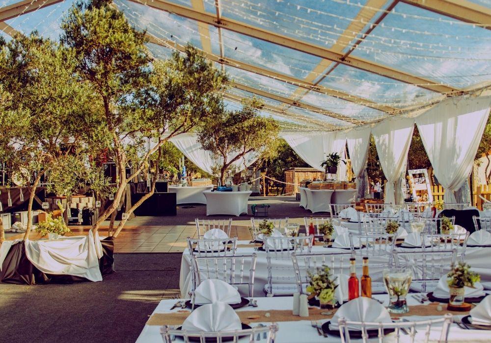 tent event vjenčanja pod šatorom